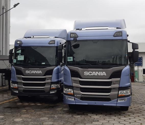 Scania P320 Bitruck (entrada+parcelas) 8x2 2019/2020