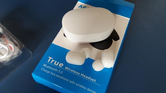 Wireless Headset A6s Bluetooth Branco