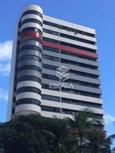 Imagem 1 de 15 de Apartamento Com 4 Dormitórios À Venda, 282 M² Por R$ 750.000,00 - Aldeota - Fortaleza/ce - Ap1803