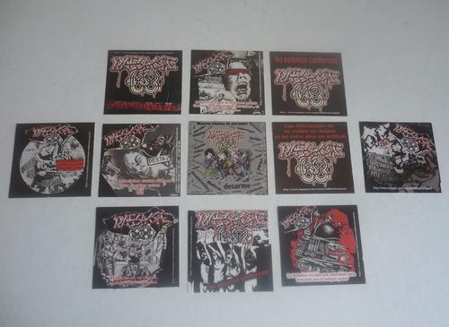 Imagen 1 de 1 de Calcomania Stiker Calca D Massacre 68 - Punk Dark Rock Biker