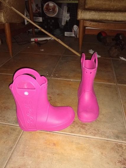 Botas De Lluvia Niña Crocs