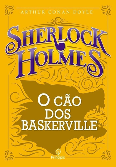 Sherlock Holmes O Cão Dos Baskervilles - Livro - Conan Doyle