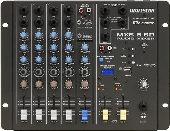 Mesa Ciclotron Mxs 6sd