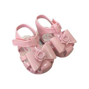 4eff45fc2 Sandalia Rosa Com Laco Pimpolho - Calçados, Roupas e Bolsas no ...