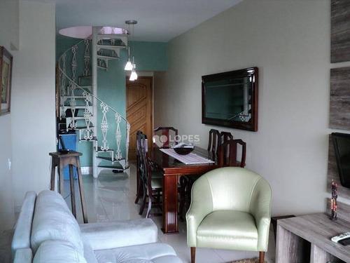 Cobertura Com 3 Dormitórios À Venda, 210 M² Por R$ 710.000,00 - Santa Rosa - Niterói/rj - Co2647