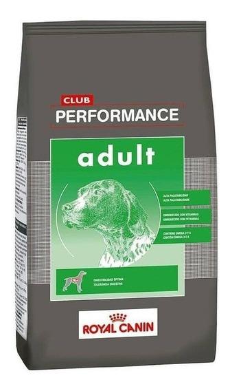 Alimento Royal Canin Club Performance perro adulto todos los tamaños 20kg