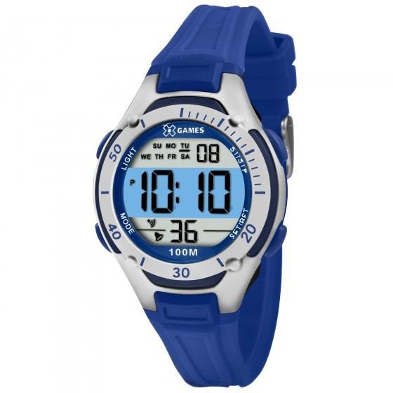 Relógio X Games Unissex Xkppd015 Bxdx Azul - Refinado