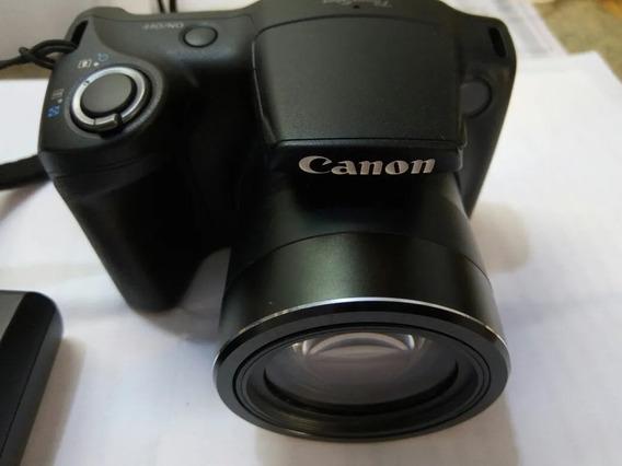 Camra Canon Ax400is Usada + Nota Fiscal + Garantia