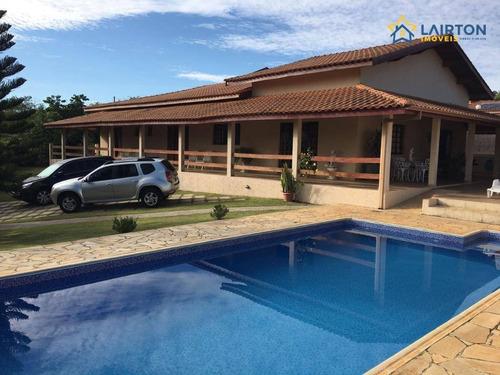 Chácara À Venda Em Residencial Fechado - Atibaia Sp - Ch1387