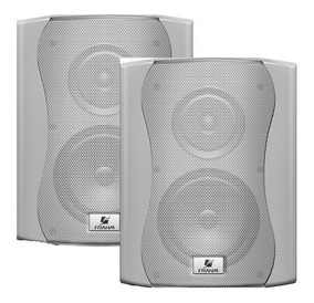 Par Caixa Acustica Ps6 Plus Outdoor Branca 120w- Frahm