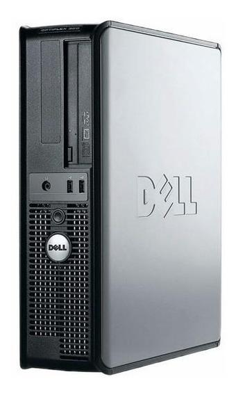 Cpu Dell Optiplex 320 Dual Core 2gb Ssd 120gb 12x S/ Juros