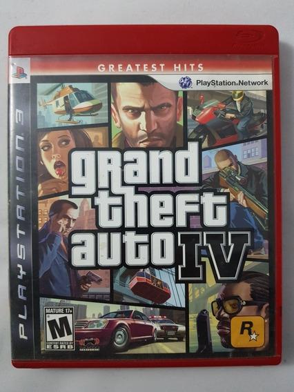 Gta 4 Grand Theft Auto Iv Ps3 Mídia Física Pronta Entrega