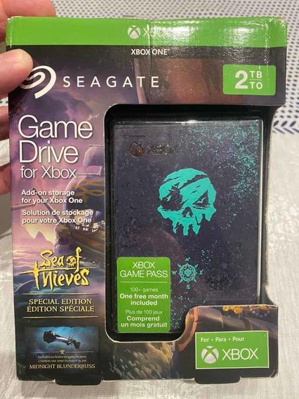 Hd Hard Drive Xbox One Sea Of Thieves 2tb Com Dlc Raro