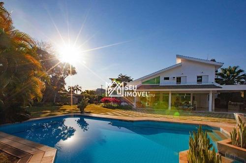 Imagem 1 de 30 de Casa Com 5 Dormitórios À Venda, 557 M² Por R$ 2.500.000,00 - Condomínio Moradas São Luiz - Salto/sp - Ca2027