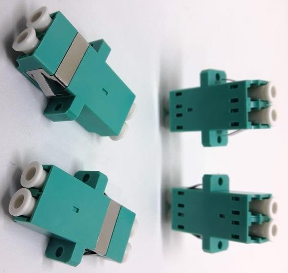 Adapator Acoplador Conector Fibra Optica Dx Lc/pc Om3 Acqua