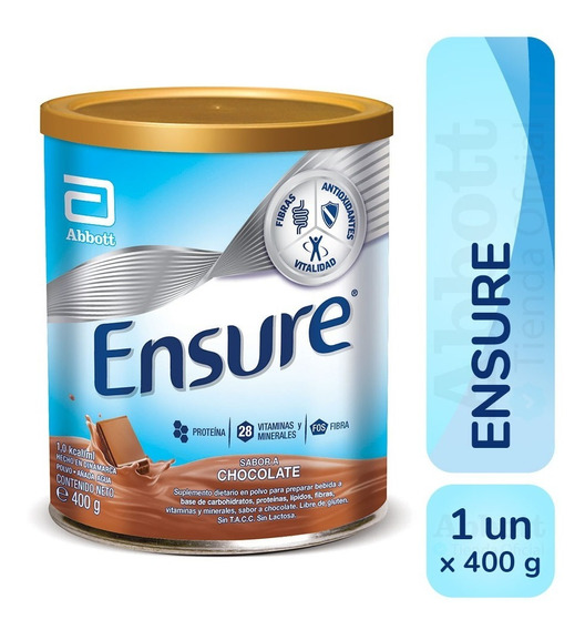 Ensure Polvo X 400 Gr Vainilla Chocolate