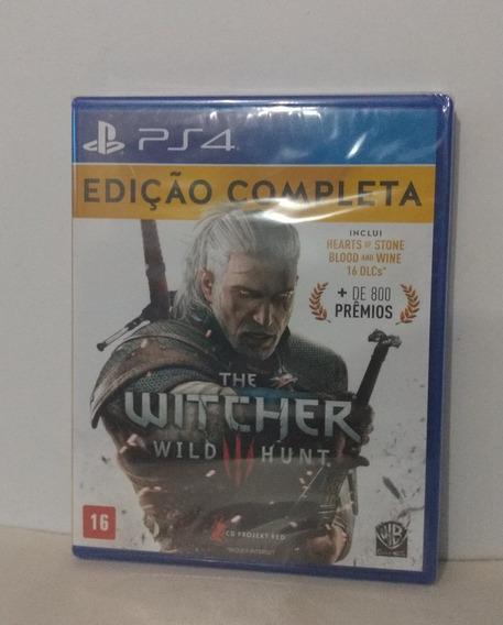 The Witcher 3 Edição Completa Ps4 Mídia Física Lacrado