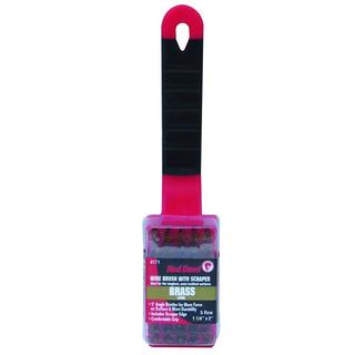 Red Devil 4171 Mini Brass Wire Brush