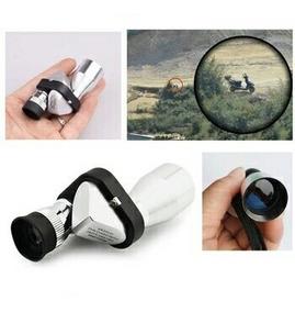Telescópio Monocular Portátil Mini 8 X 20 Spotting Scope