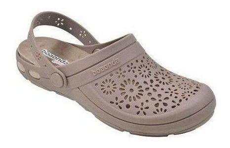 Sapato Babuche Cloc Feminino Boaonda Joanete Esporão Calçado