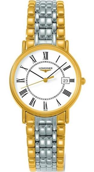 Reloj Longines Presences White Dial Dos Tonos L47202117