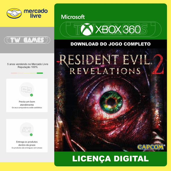 Resident Evil Revelations 2 Digital Xbox 360