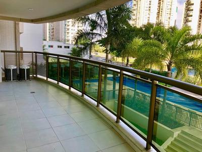 Apartamento Em Barra Da Tijuca, Rio De Janeiro/rj De 140m² 4 Quartos Para Locação R$ 4.500,00/mes - Ap230486