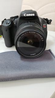 Câmera Canon T3i, C Todos Acessórios, Lente 18-55m