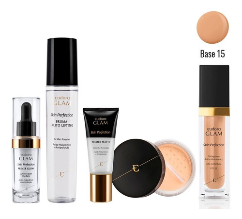 Kit Glam Skin Perfection Claro Médio Completo
