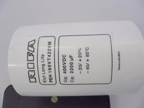 302a. - Capacitor Eletrolitico 2200uf X 400v - Rifa