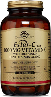 Ester C. Vitamina C 1000mg 180 Tabletas Calcio Acerola