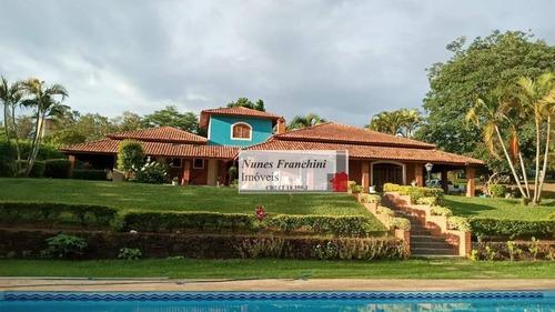 Chácara À Venda, 10000 M² Por R$ 2.100.000,00 - Gramadinho - Porto Feliz/sp - Ch0025