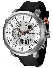 Relógio Xgames Xmspa016 S2px Xteel Masculino Preto- Refinado