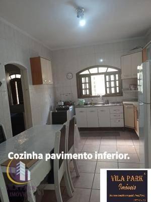 Sobrado Com 3 Dormitórios À Venda, 286 M² Por R$ 750.000 - Cipava - Osasco/sp - So0621