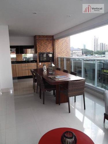 Apartamento Com 4 Dormitórios À Venda, 227 M² Por R$ 3.100.000,00 - Tatuapé - São Paulo/sp - Ap5220