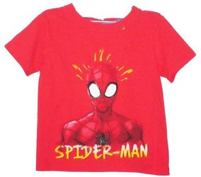 Playera Mascara De Spider-man Original Niño Talla 2