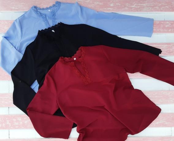 Camisas De Crepé