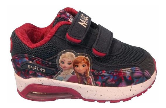 Disney Zapatillas Frozen Con Camara Y Luz Talles De 24 Al 27