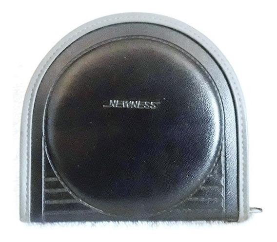 693 Prd- Case- Porta Cd - Dvd- Newness- Para 12 Cds- Preto