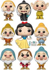 Boneco Funko Pop Snow White Branca De Neve E Os 7 Anões
