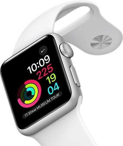 Relógio Apple 38mm S1 Aluminio Pulseira Preta Oferta