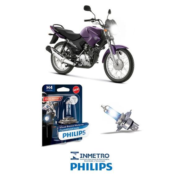 Lâmpada H4 35w Philips 4300k Yamaha Ybr 125 Factor