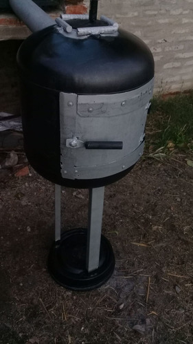 Imagen 1 de 5 de Calefactor Artesanal  A Leña Estilo Quematuti
