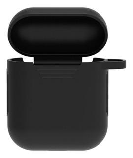 6 Acessórios Air Pod 1 E 2 Case + Alça + Ear Cap + Gancho +