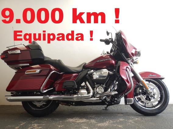 Harley Davidson Ultra Electra Glide Limited - Só 9000 Km !