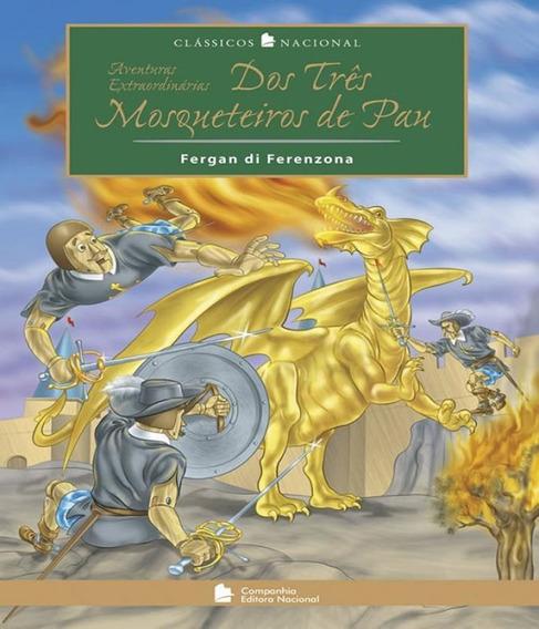 Livro Aventuras Extraordinarias Dos Tres Mosqueteiros