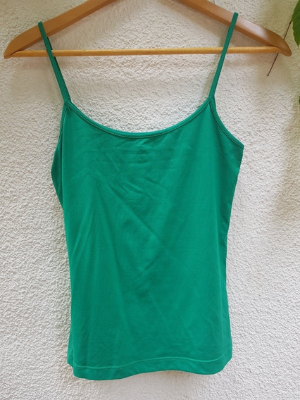 Musculosa Verde Zara Impecable