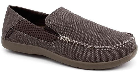 Crocs Sapato Masculino Santa Cruz 2 Luxe Caqui