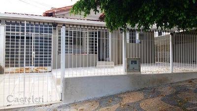Casa Residencial À Venda, Jardim Proença, Campinas. - Ca1677