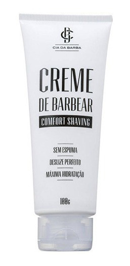 Creme De Barbear Comfort Shaving Cia Da Barba 100g